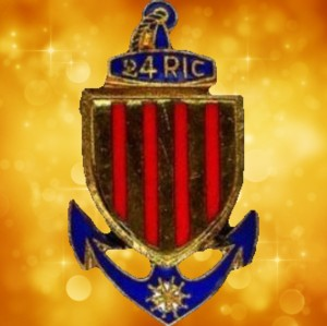 Insigne du 24ème R.I.C.