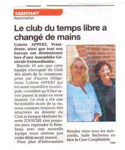 Club du Temps Libre
