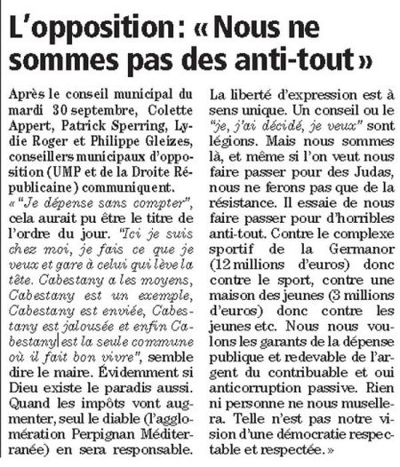 article colette indép octobre 2014