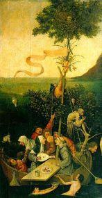 La nef des Fous de Hieronimus Bosch peintre hollandais