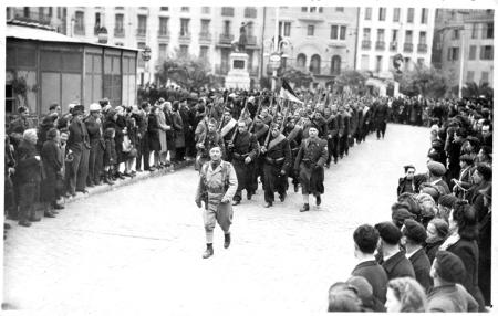 le 1er bataillon du 24ème R.C.I., le 15 février 1945