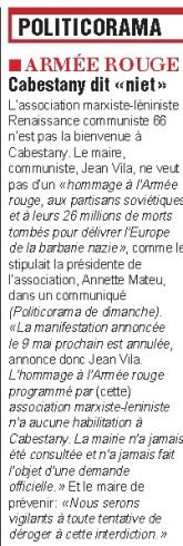 l'indépendant du 7 mai 2015
