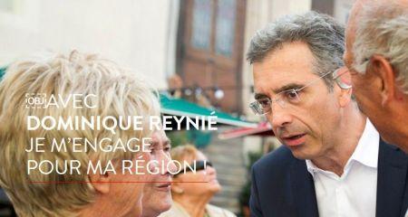 Dominique Reynié s'engage pour notre région !