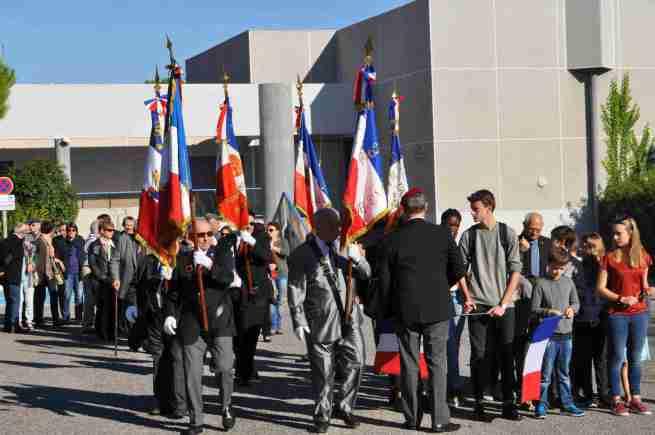 cérémonie du 11 novembre 2015 à Cabestany
