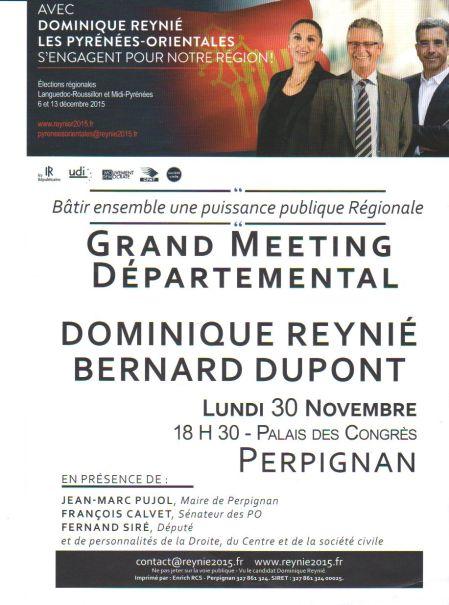 Dominique Reynié sera à Perpignan