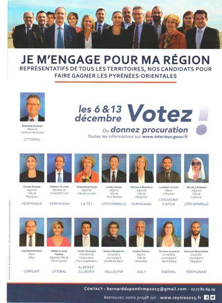 Je m'engage pour ma région : avec Dominique Reynié, avec Patrick Dupont !
