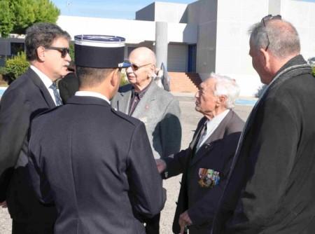 Robert Montoya, le Président des ACPG paraissait satisfait.