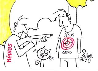 un dessin de l'humoriste MIEGE que l'ancienne garde des sceaux aura trainé plusieurs fois au tribunal tellement elle était capable d'apprécier l'humour !